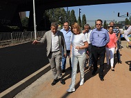 Mayor Fandakova inspected the refurbishment the Asen Yordanov Blvd and Iskarsko Shose St